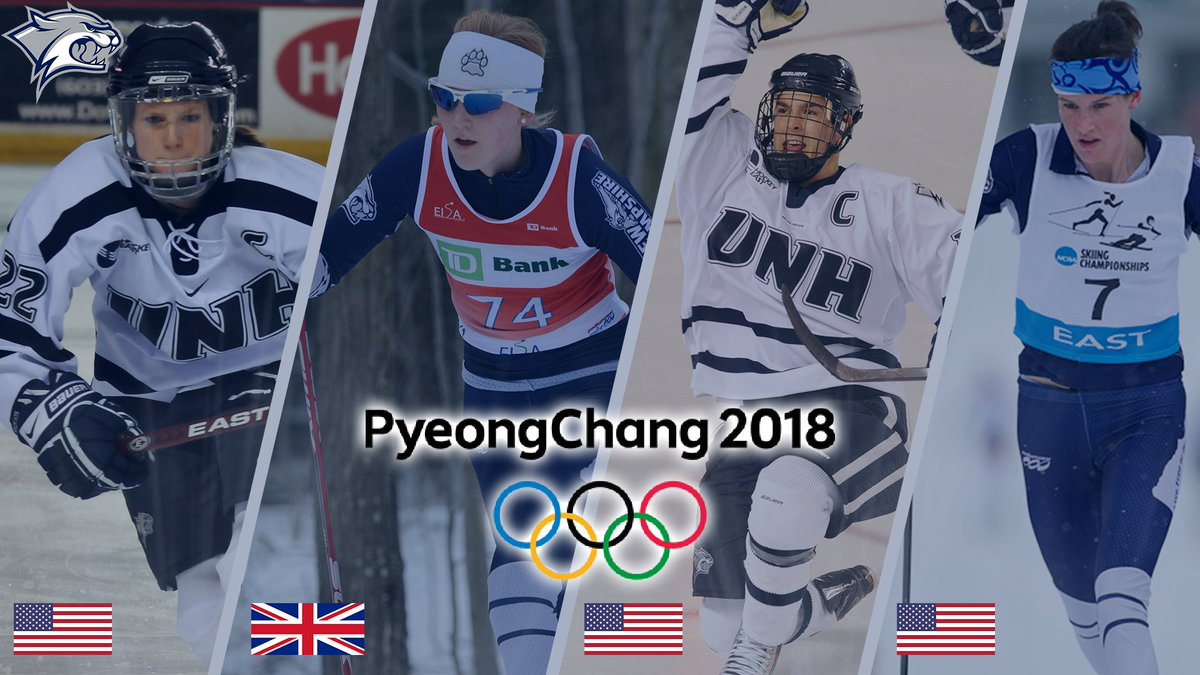 With the @Olympics beginning tomorrow, we wish the best of luck to our Olympic athletes - Kacey Bellamy, Annika Taylor, Bobby Butler and Clare Egan! #GoUNH  From @UNHInsider - &#39;UNH Olympic Athletes Ready to Take the Stage&#39;  http:// bit.ly/UNHOlympics  &nbsp;  <br>http://pic.twitter.com/9UAMS9vmT2