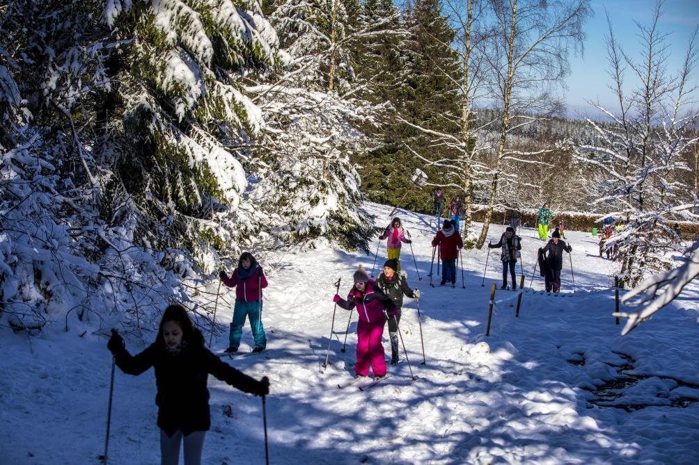 La #neige, manne céleste de la Baraque Fraiture https://t.co/6HGmC78m2H un #reportage de @fred_delepierre