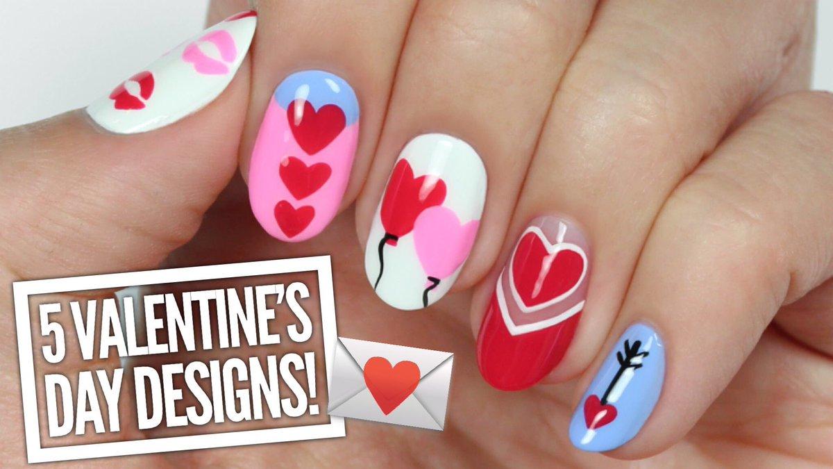 Cutepolish cutepolish twitter 5 cute valentines day nail art designs httpsyoutu3gmus319jc picitterjdkb8blrco prinsesfo Image collections