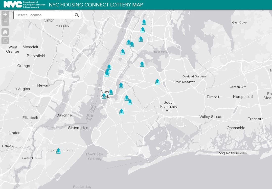 City of New York on Twitter NYC releases interactive housing