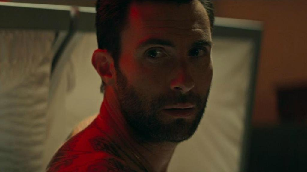 """RT @etnow: Adam Levine shows up shirtless to a funeral in @maroon5's """"Wait"""" music video. https://t.co/m4uJKpF79D https://t.co/BfNu1G4nq3"""