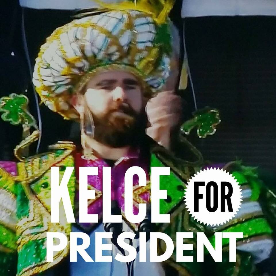 Sportsradio 94wip On Twitter Jason Kelce With The Greatest Parade