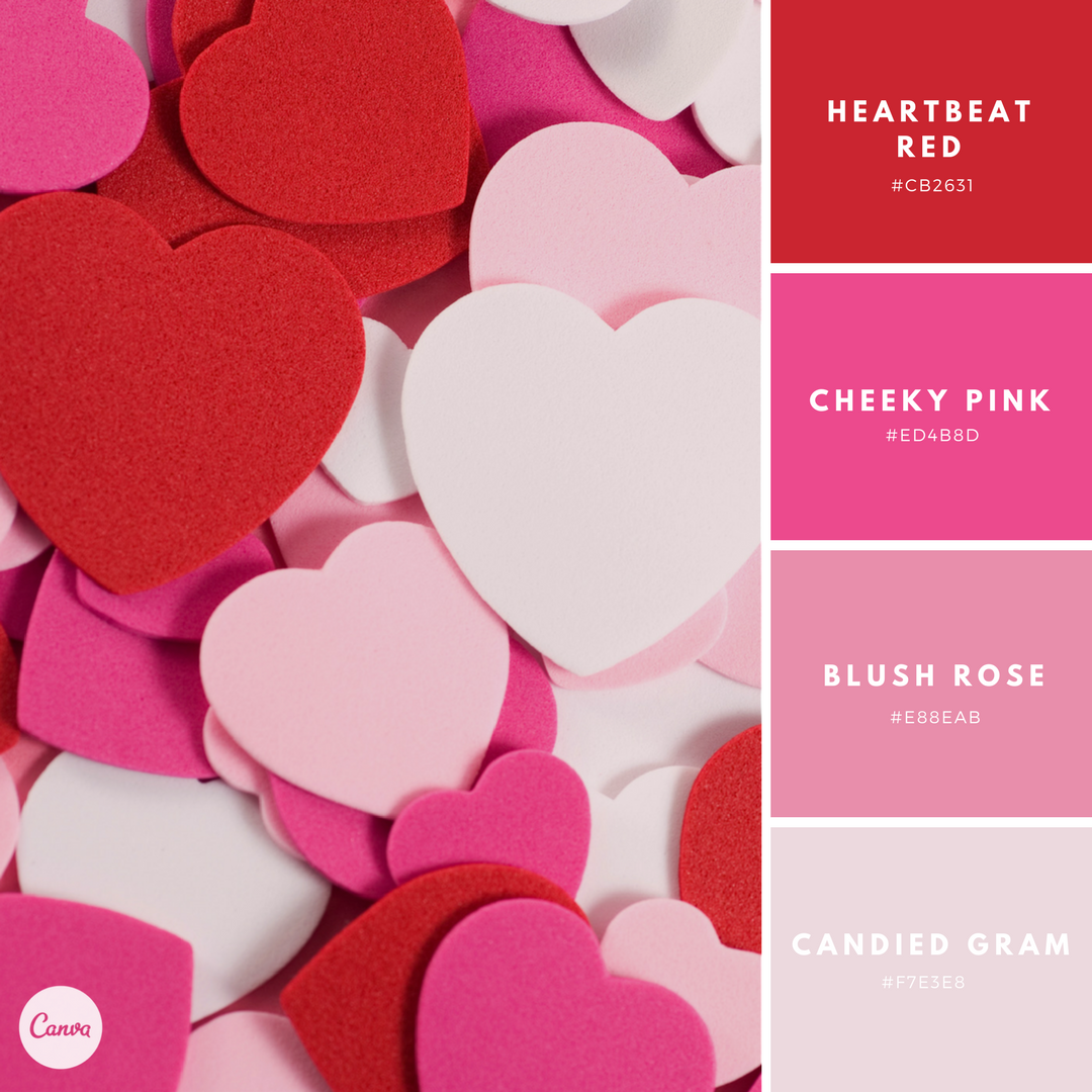 Canva On Twitter Get In The Mood For Love With Our Latest Color