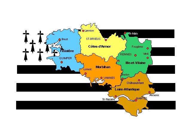 Carte Bretagne Avec Departement.Vigibretagne On Twitter Ne Confondez Vous Pas Votre Carte