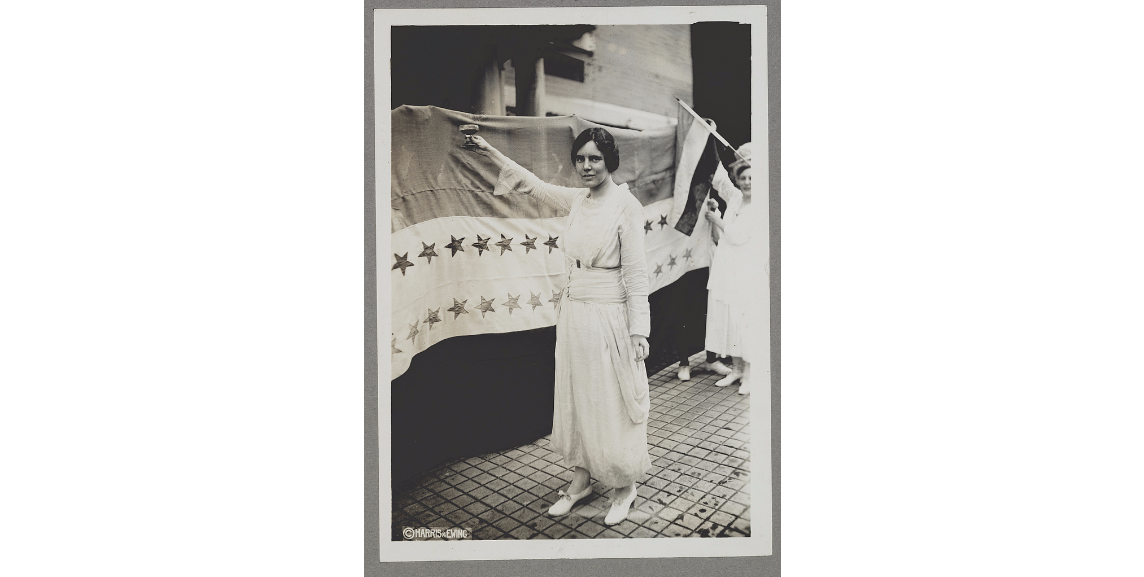 Her National Woman's Party ushered in a more militant women's rights  movement. (Photo Cred @librarycongress) #APUSH #NationalWomansParty ...