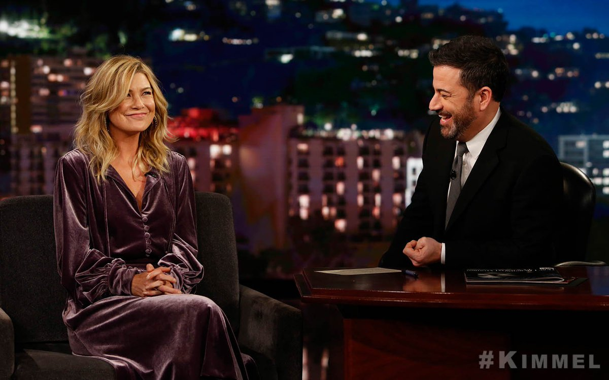Our very own @EllenPompeo will be on @Ji...