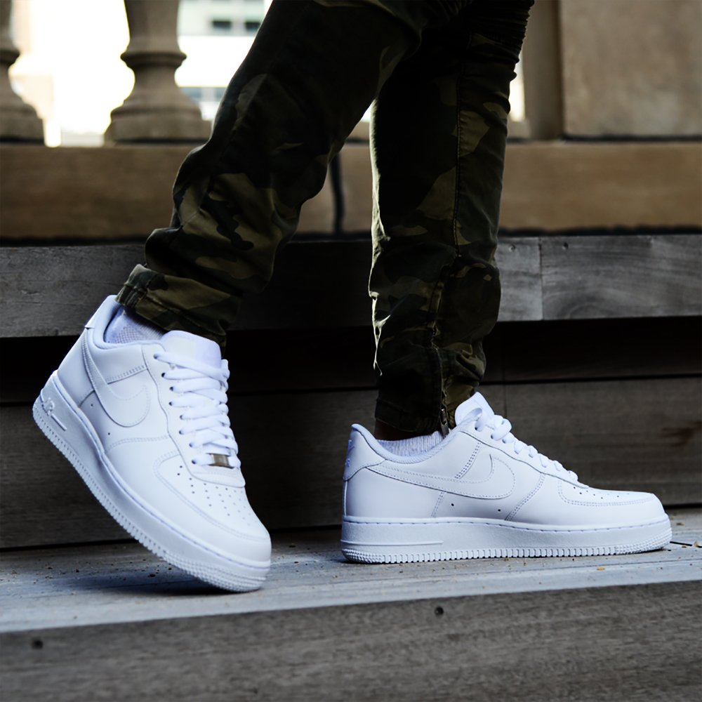 air force 1 low with jeans