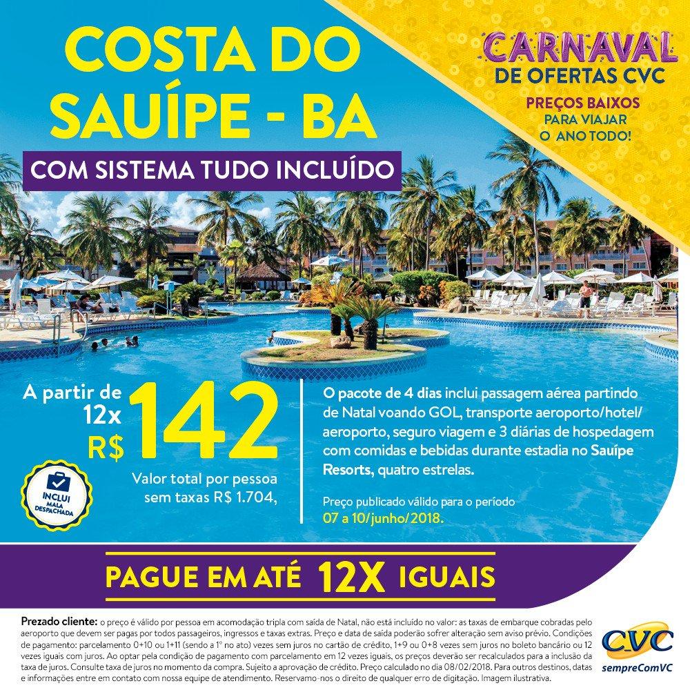 Costa Do Sauipe Resorts Cvc Viagens