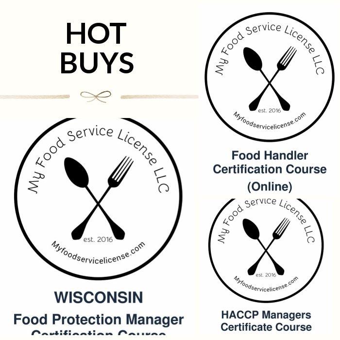 Food Service Manager Certification Online Free Resume Sample