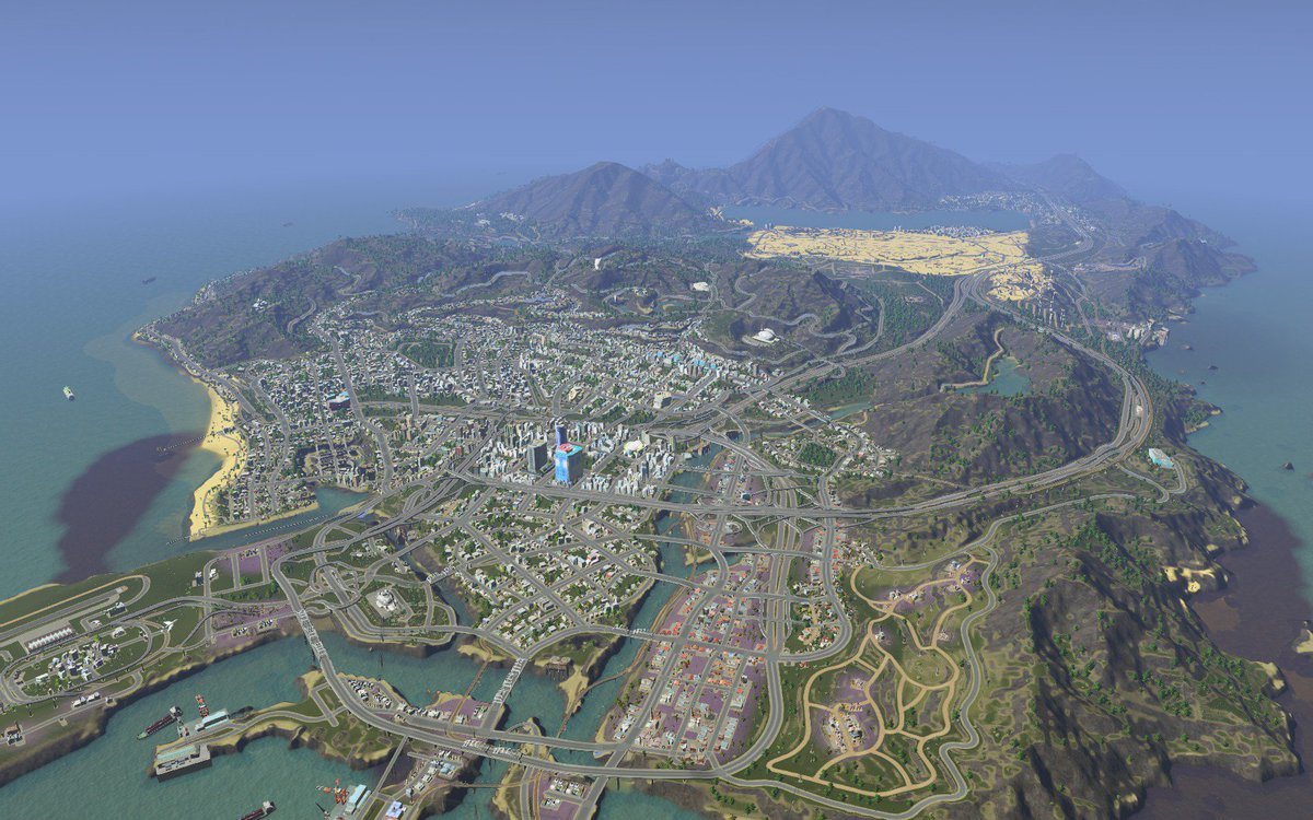 Cities skylines on twitter do we have any new players that are gta cities skylines on twitter do we have any new players that are gta 5 fans you should recognize this recreation then what other fictional cities should gumiabroncs Image collections