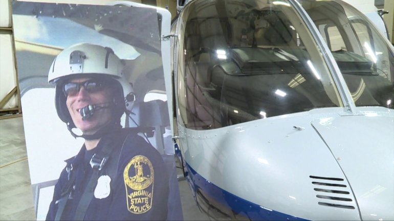 Virginia aviation hangar renamed for Trooper killed in #Charlottesville crash https://t.co/Zz5dap7i6p