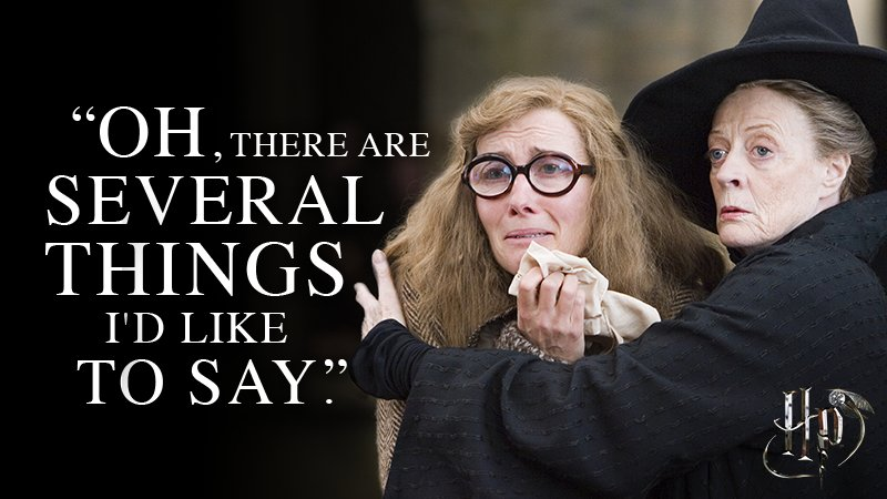 With sharp wit and a big heart, Professor McGonagall will always protect her fellow Hogwarts professors. https://t.co/TUTtbo4A5y
