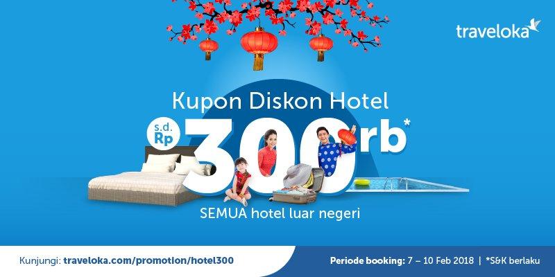 Traveloka Indonesia בטוויטר Liburan Semakin Seru Dengan Promo Diskon S D Rp300 000 Ke Semua Hotel Di Luar Negeri Info Https T Co T2d3znwf5m