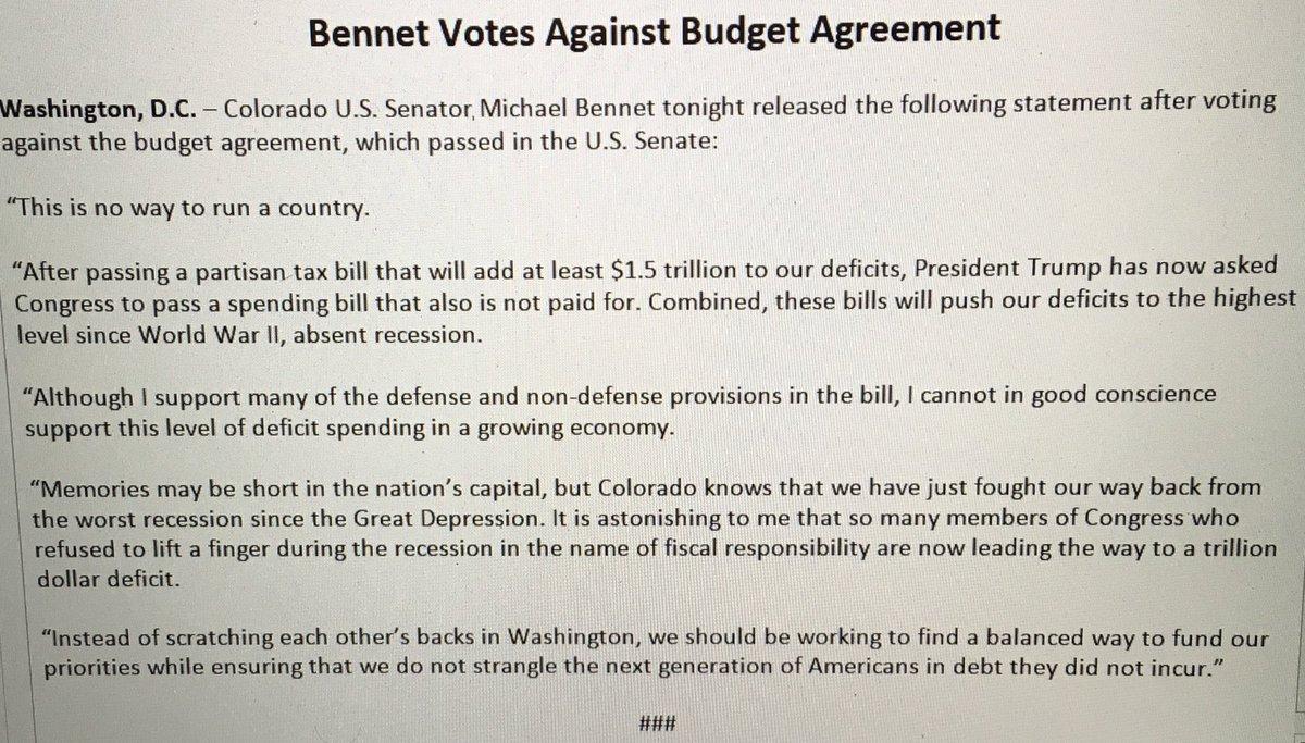 Michael f bennet on twitter read my statement on why i voted michael f bennet on twitter read my statement on why i voted against the budget agreement platinumwayz