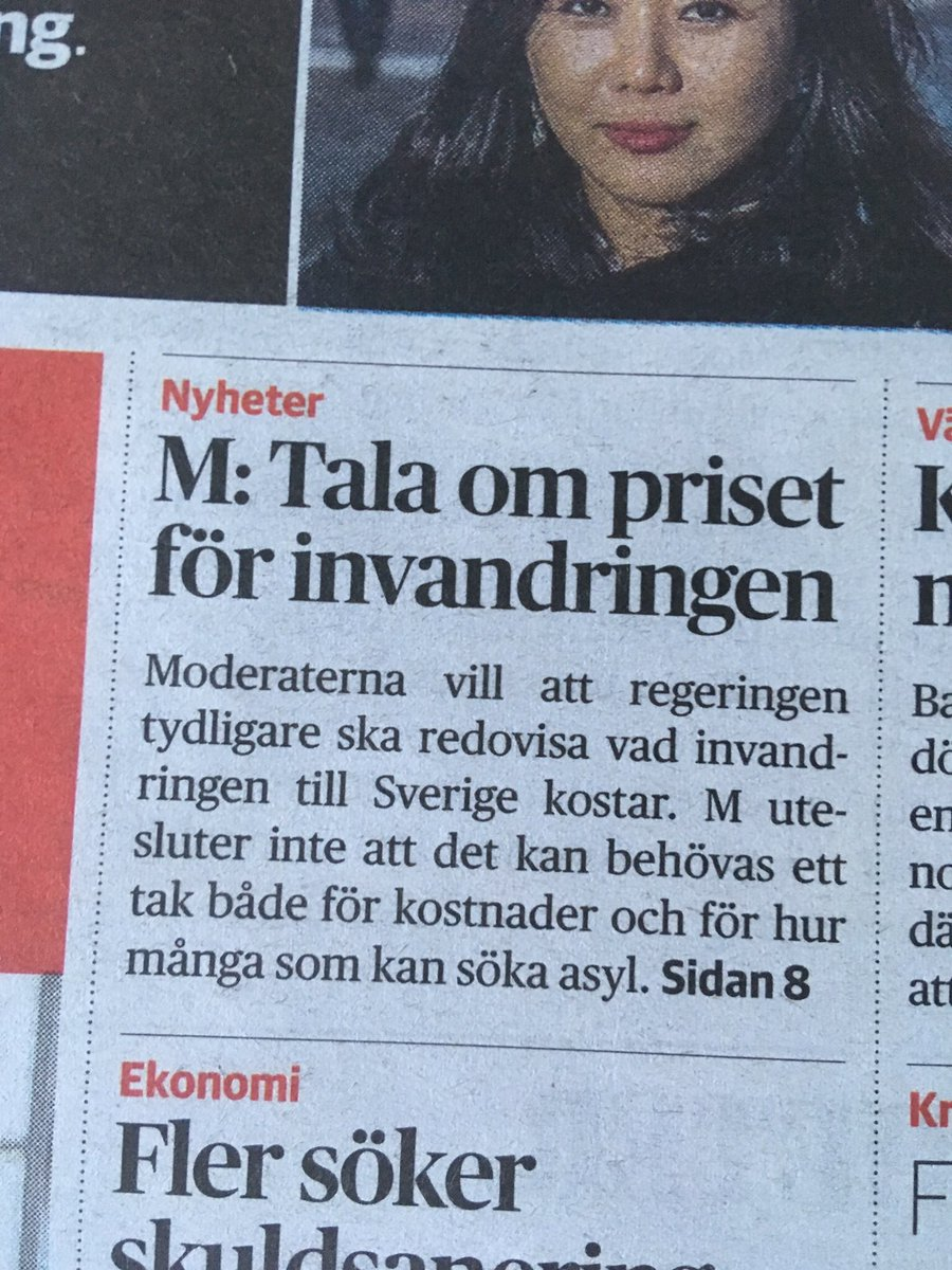 Ja, moderaterna går i alla fall all in