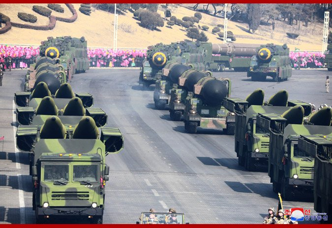 Korean People's Army: News - Page 6 DVkDJtEUQAAgyLU