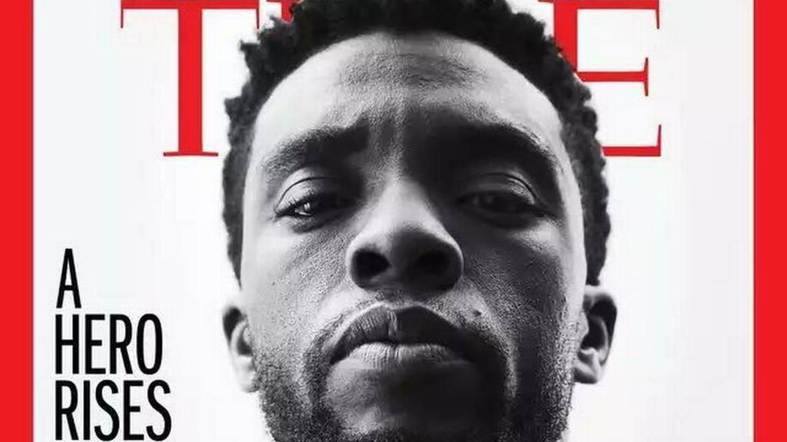 An SC native is the first black lead of a Marvel movie, now he's on the cover of Time https://t.co/hOSAB1nekN