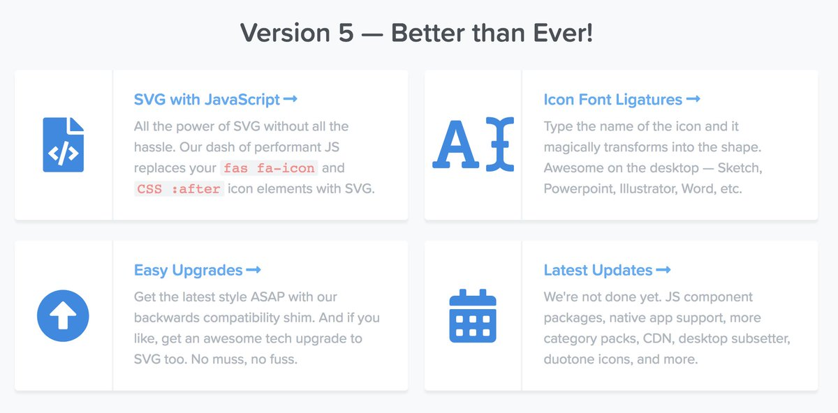 Font awesome 5 cdn