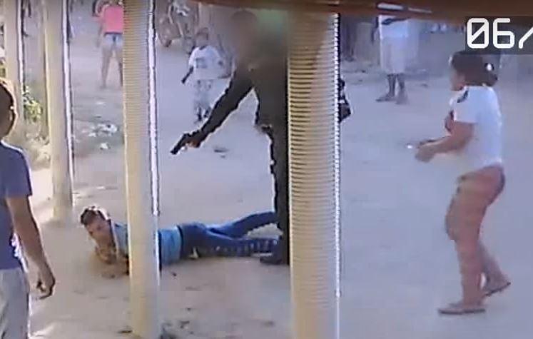 Resultado de imagen para Policía mata a tiros a un joven colombiano