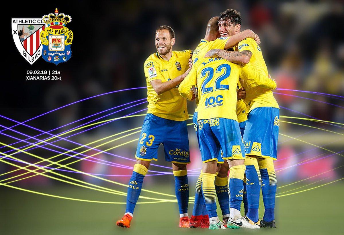 Una nueva oportunidad para seguir en la buena dirección!!! 👉⚽� #VamosUD #AthleticLasPalmas
