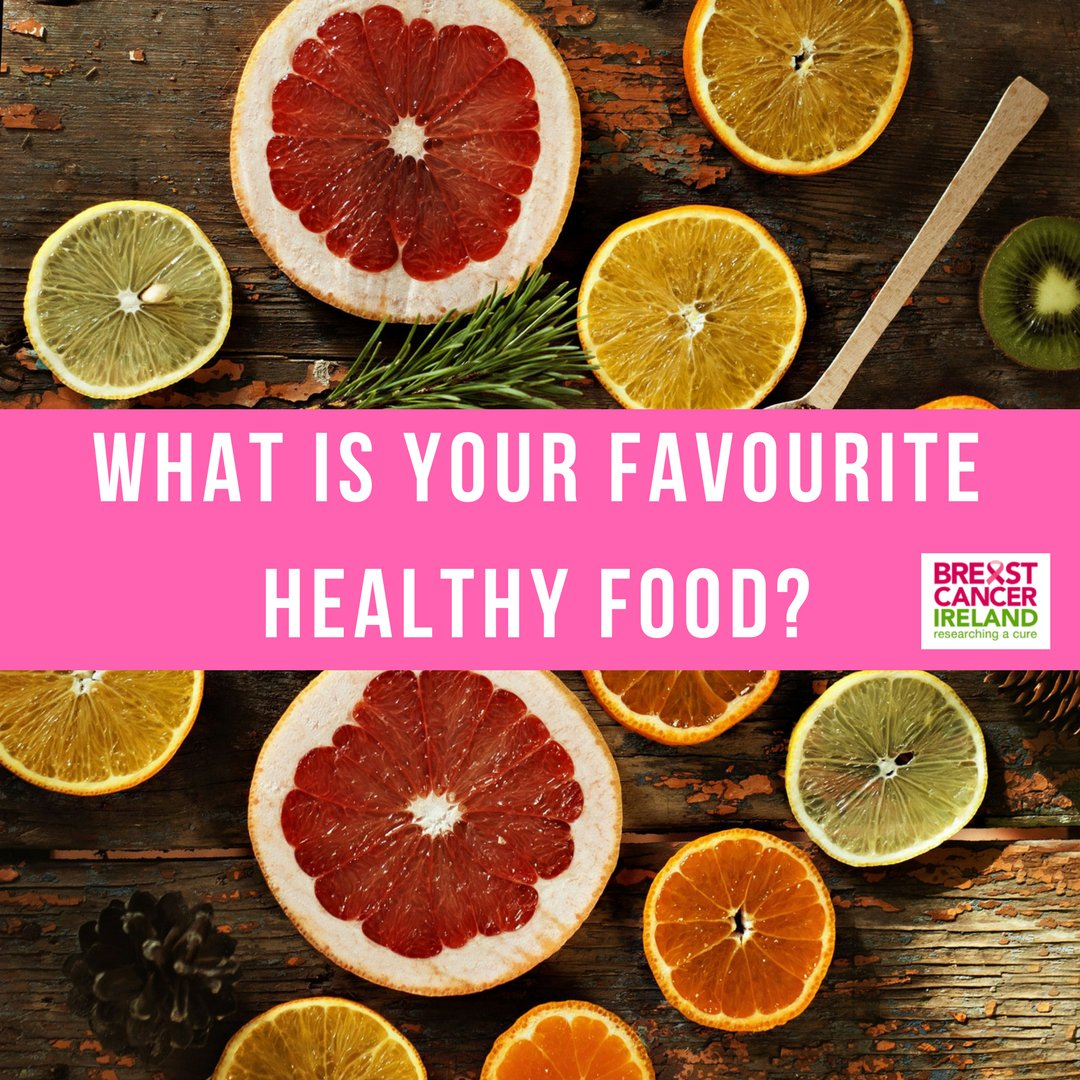 What are your favourite Healthy Foods? #breastcancerire #breastcancer  #breastcancerireland #breastcancerawarenesspic.twitter.com/FN2KMPS3x7