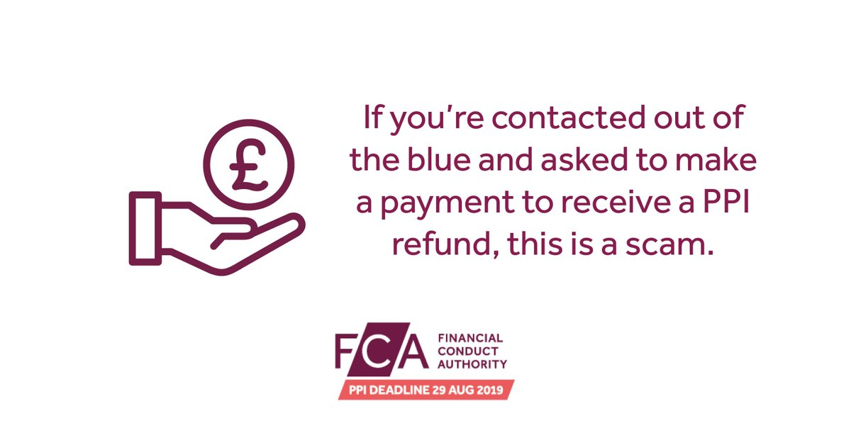 The fca ppi deadline on twitter scammers are approaching people scammers are approaching people about ppi refunds you can find out how you can protect yourself from these types of scams on our website here solutioingenieria Image collections