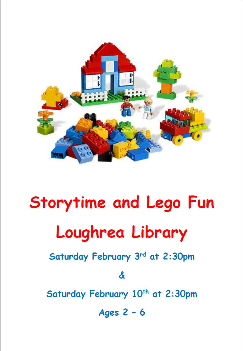 Saturday, 10 February, 2.30pm. As Part Of Their Regular Preschool And  Toddler Storytime U0026 Crafts There Will Be A Storytime And Lego Duplo  Building Session.