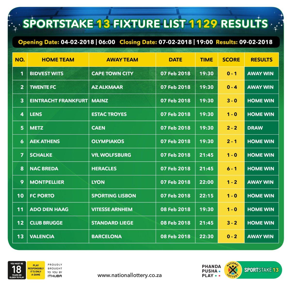 Sportstake midweek fixture ithuba macmillanbuilds co uk