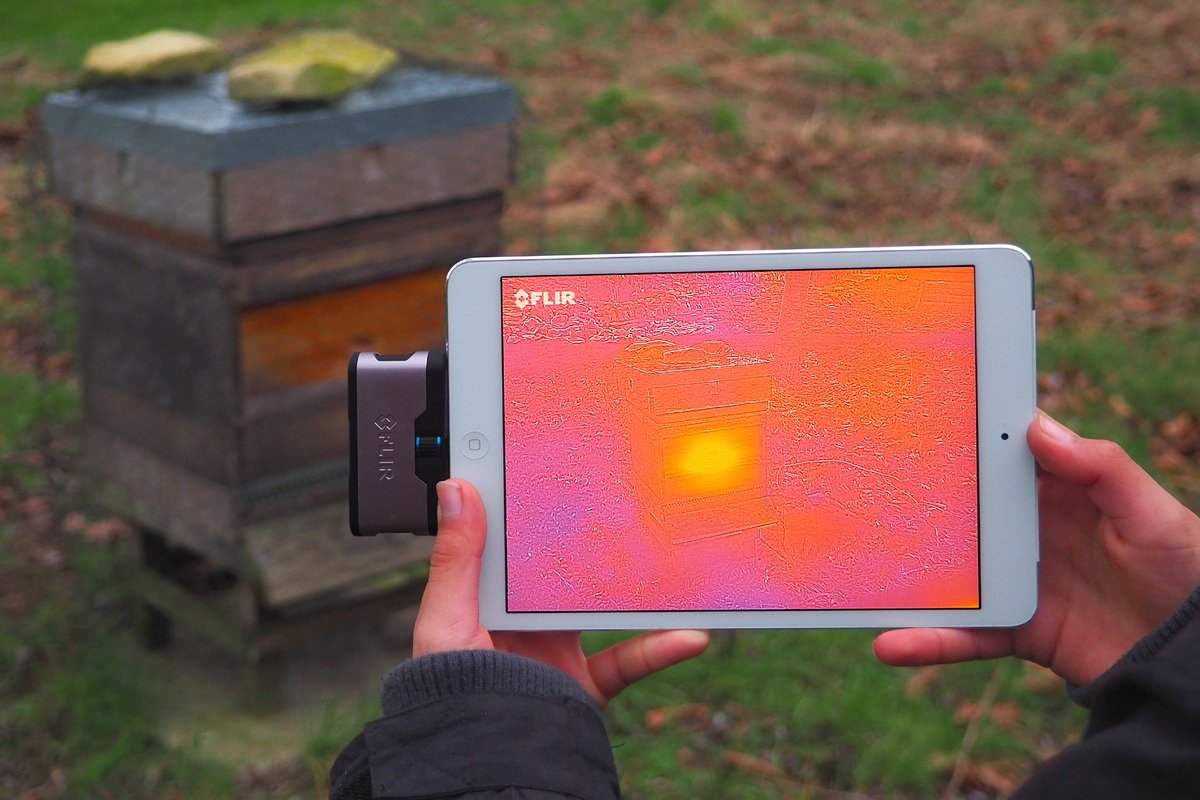Looking infrared cameras