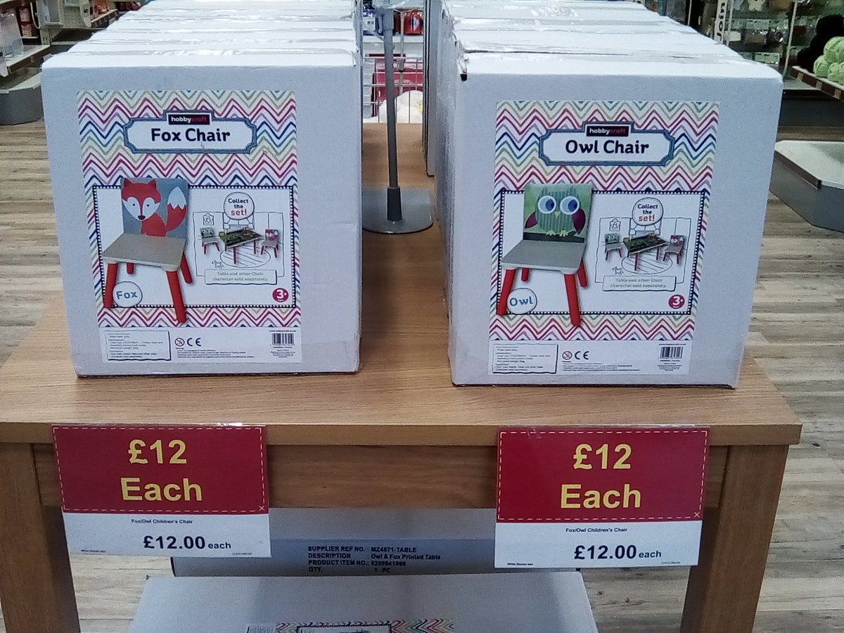 Hobbycraft C Field On Twitter Huge Savings On Our Fox And Owl