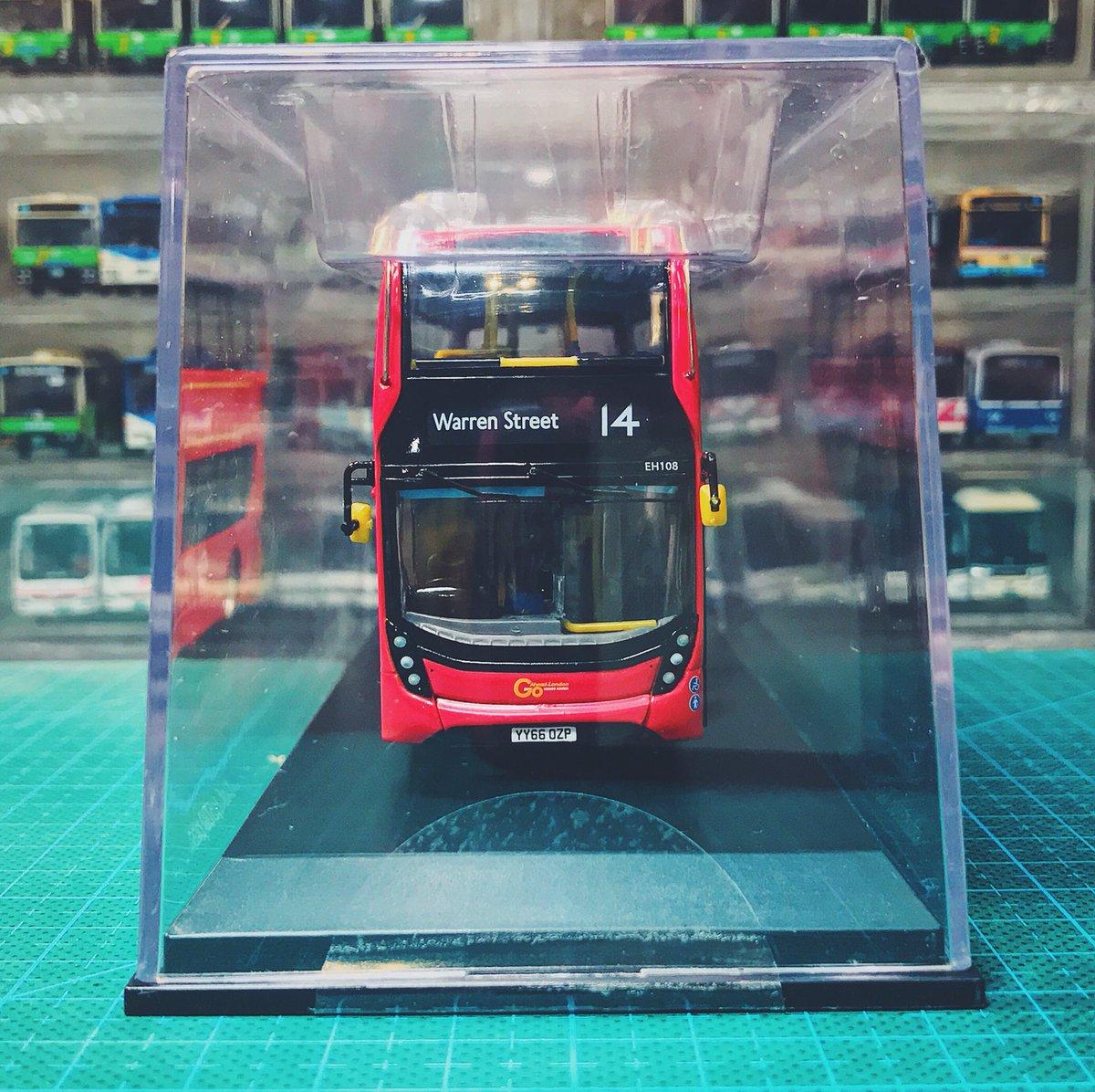NORTHCORD UKBUS6501 ADL Enviro400 Go Ahead London EH108 YY66 OZP E400H