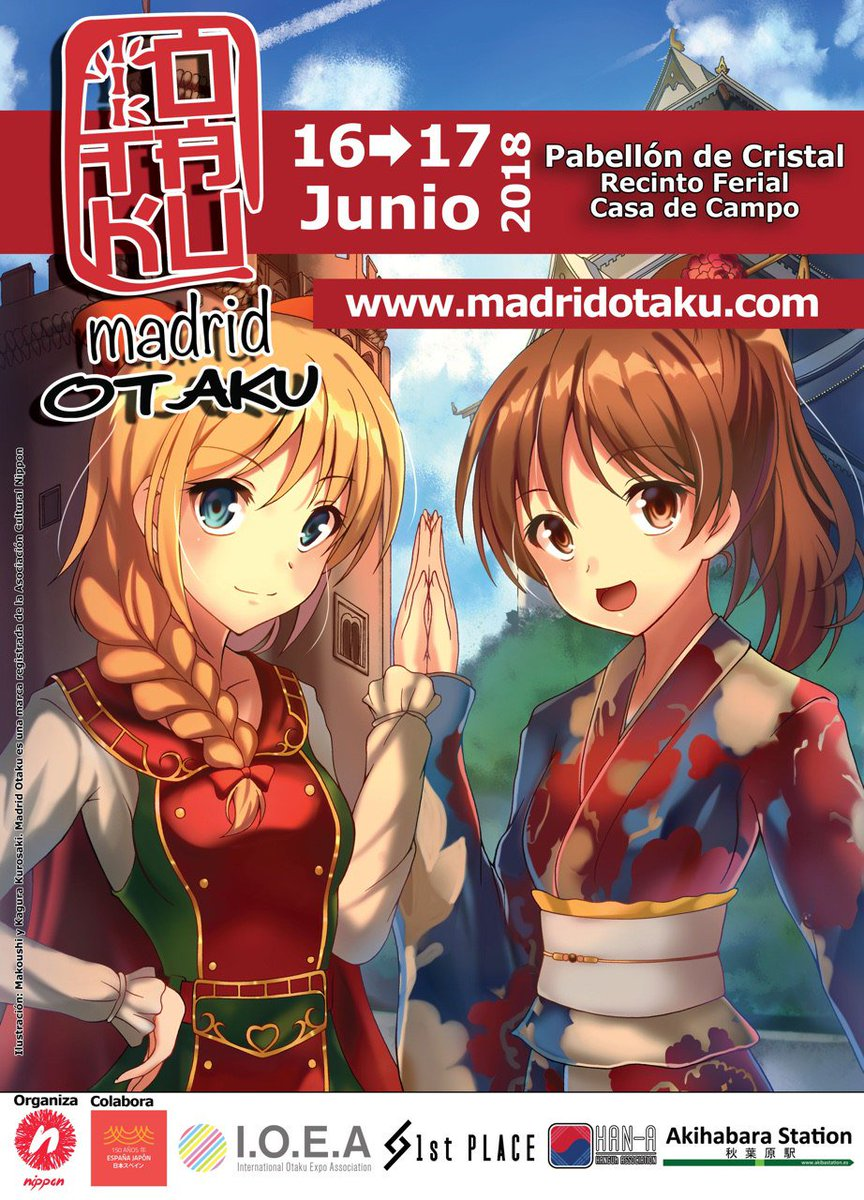 Resultado de imagen de MADRID OTAKU 2018