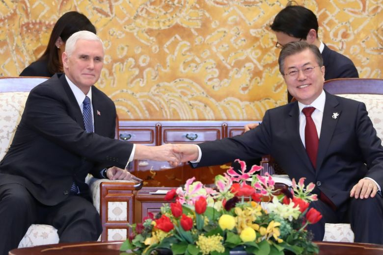 US VP #Pence avoids encounter with #NorthKorean official as Olympics begin https://t.co/LsVVOP6fCq