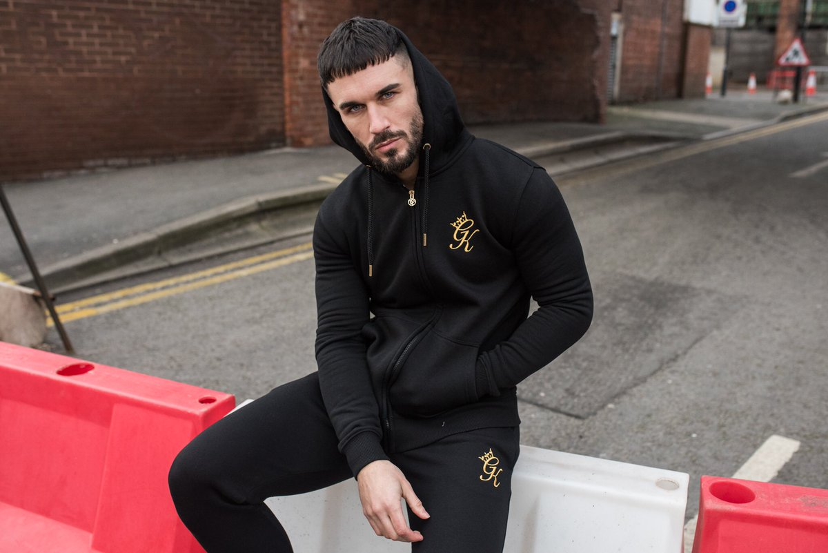 ... Black   Gold Fleece Tracksuit. Fully restocked online just in time for  the weekend! Get yours at http   www.thegymking.com  GymKing   Fashion Lifestyle ... e439022e1