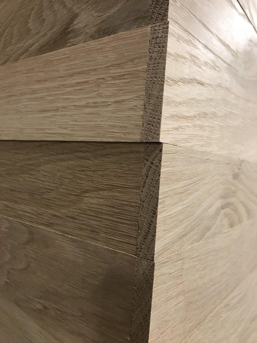 Pre lipped American White Oak door blanks with Formica Group Europe HPL faces going through the factory this afternoon.pic.twitter.com/XzEjrYJq9Z & Duncan Reeds Ltd on Twitter: