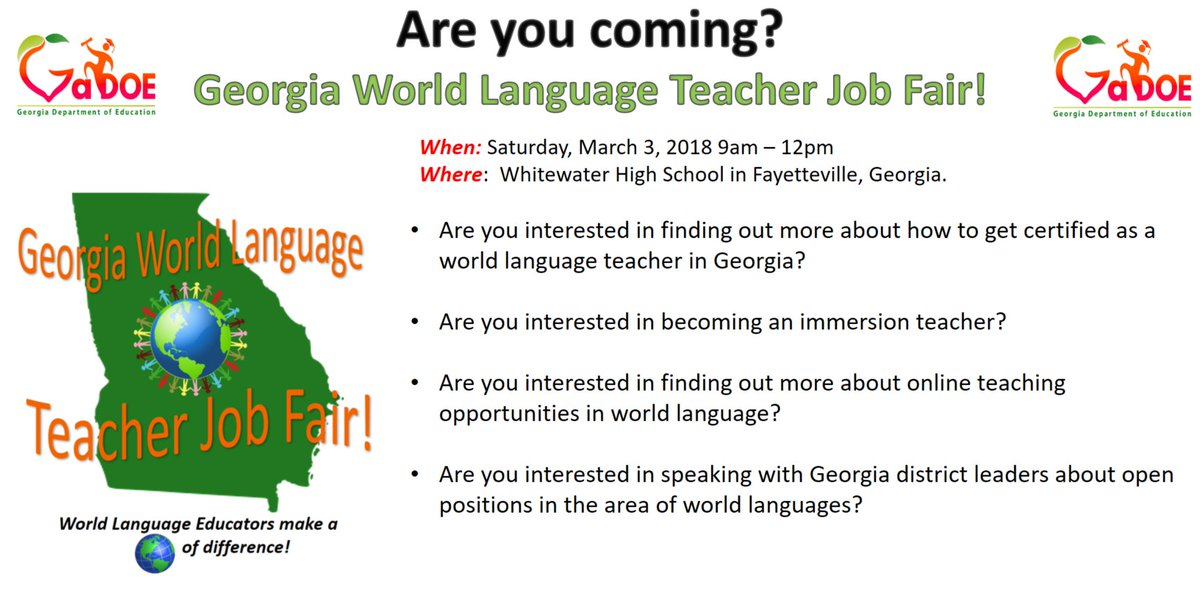 Gadoeworldlanguages On Twitter Are You Interested In Working As A