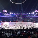 The #OpeningCeremony is a magnificent showing of unity, respect and friendship, symbolising the ideals of the #Olympics. Congratulations to all International Federations and stakeholders taking part at #Pyeongchang2018