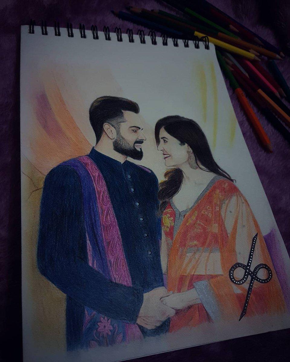 Deepak Acharya On Twitter Colour Pencil Portrait Of