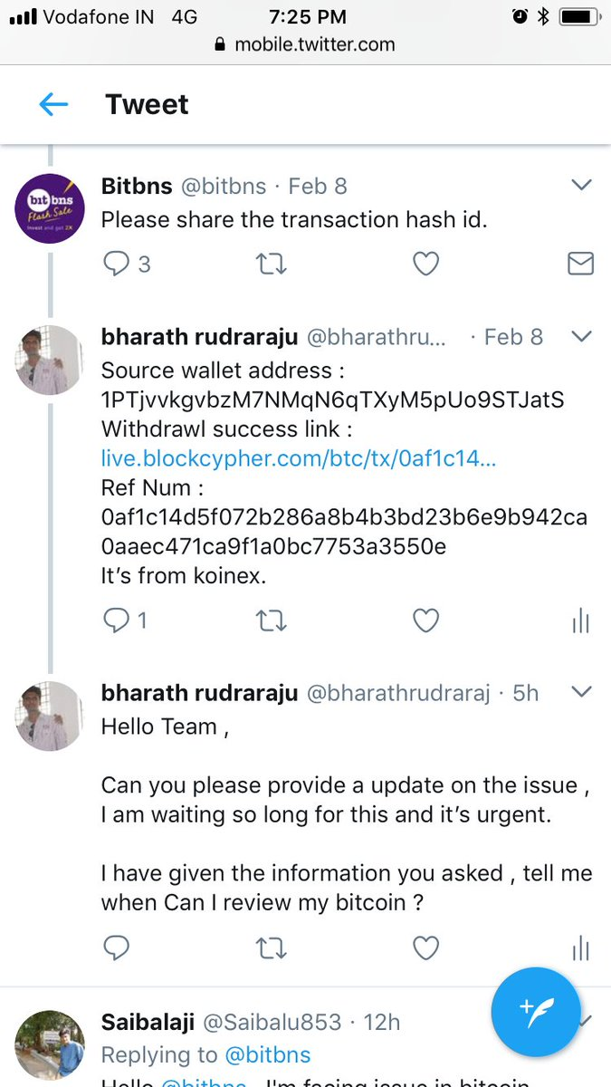Bitbns on Twitter: