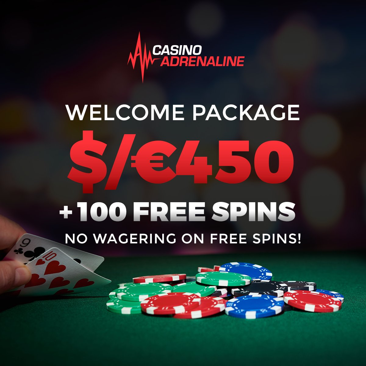test Twitter Media - Are you a NEW PLAYER? Check out Casino adrenaline WELCOME PACKAGE! https://t.co/VJrxvlNIHG