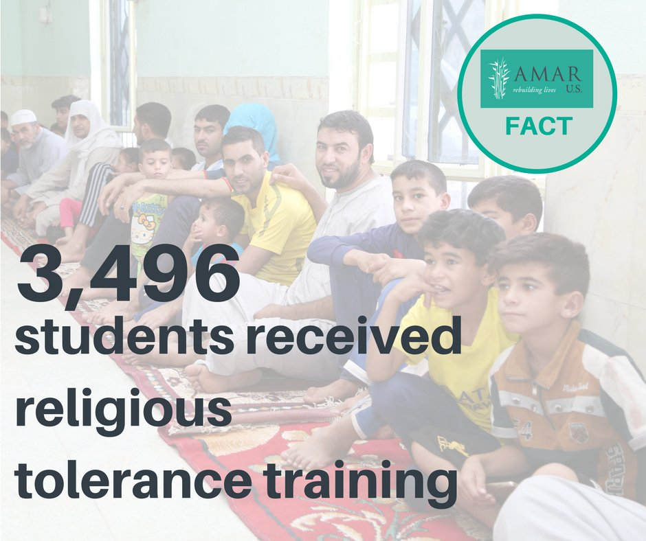 test Twitter Media - It's AMAR Fact Friday! Thank you for supporting our efforts to promote religious tolerance in Iraq! #FactFriday https://t.co/Kc5JUrtm7N