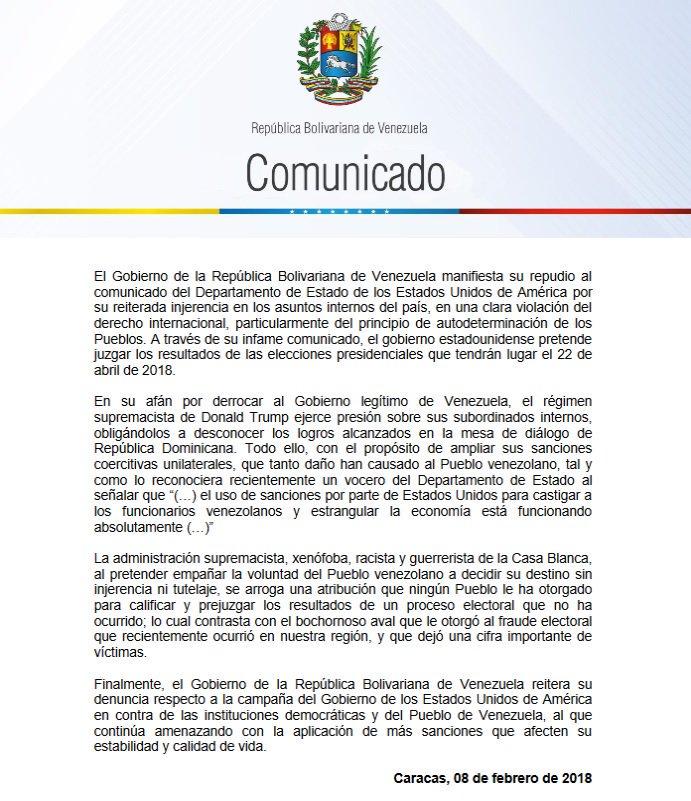 Tag comunicado en El Foro Militar de Venezuela  DVmdzEGU8AA_NiT