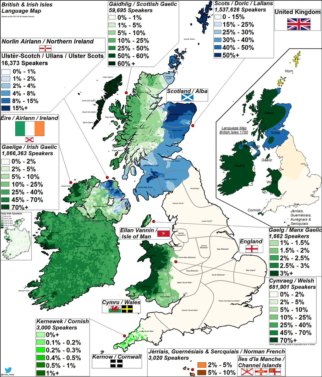 Map Of Ireland England.Uk Languages Uklangmapping Twitter