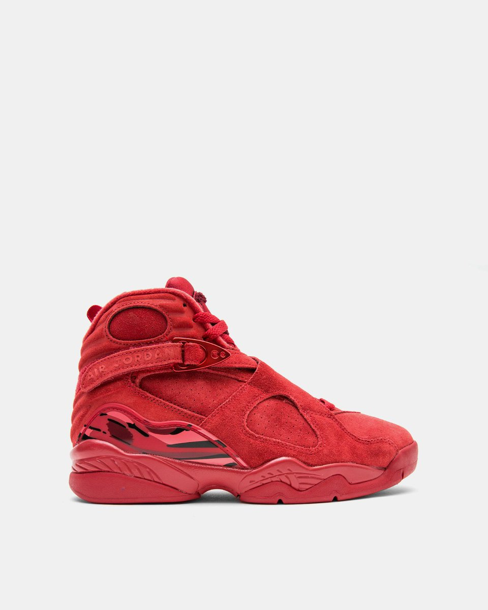 """e236496e1a4 WMNs Air Jordan 8 Retro """"Valentines Day"""" is now available in-store and  online."""