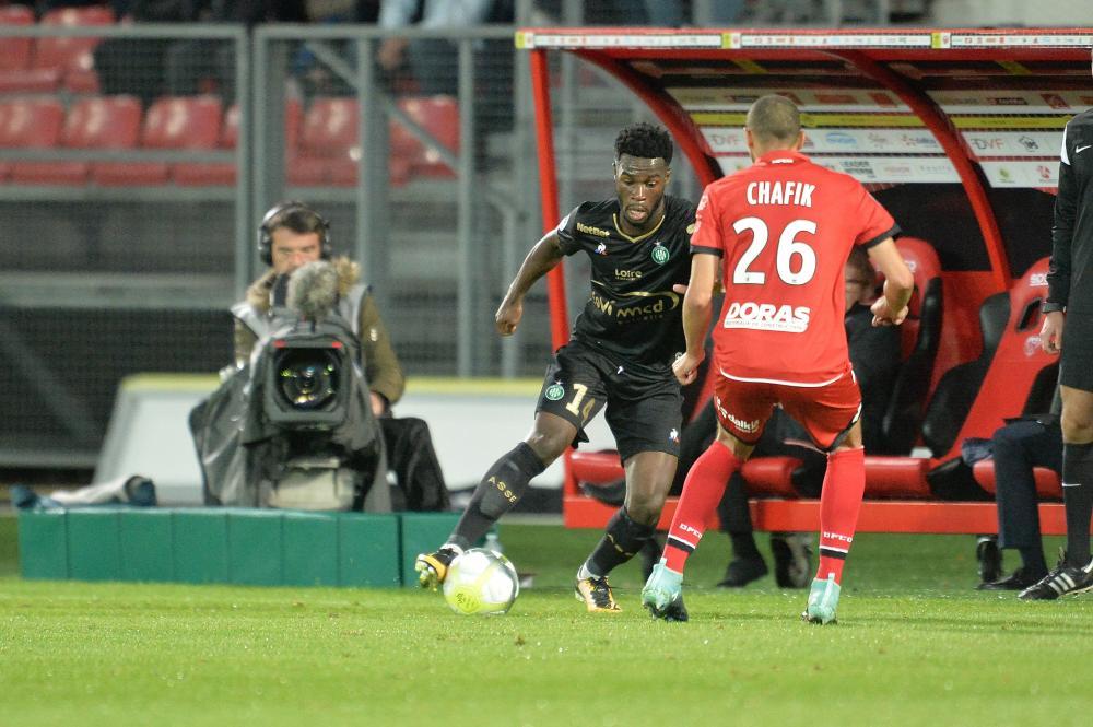 West Ham mira a contratação do atacante Jonathan Bamba, do Saint-Etienne