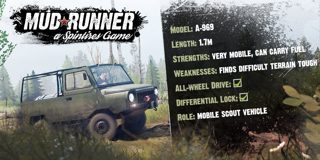 spintires mudrunner mudrunnerspin twitter. Black Bedroom Furniture Sets. Home Design Ideas