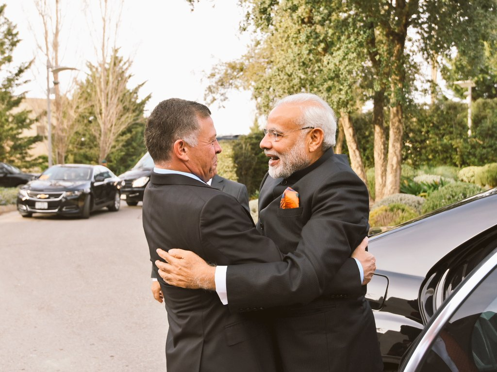 PM Modi Jordan, Jordan King Abdullah II agree to boost bilateral ties