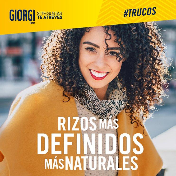 ¿Quieres unos rizos más definidos y marcados? Aplica Giorgi Rizos Descarados con el pelo húmedo y después emplea el rizador hasta formar los rizos, ¡conseguirás un look más impactante! #TrucoYRizo8 https://t.co/D4zn9oegP9