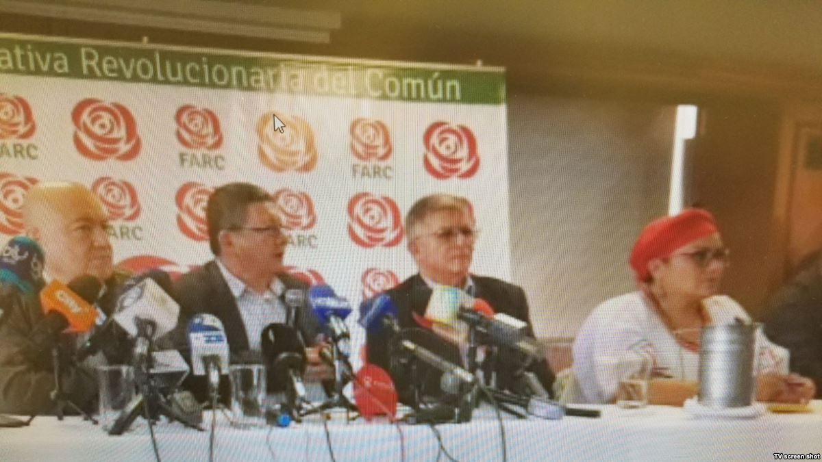 """FARC: """"La campaña no se para sólo se sus..."""