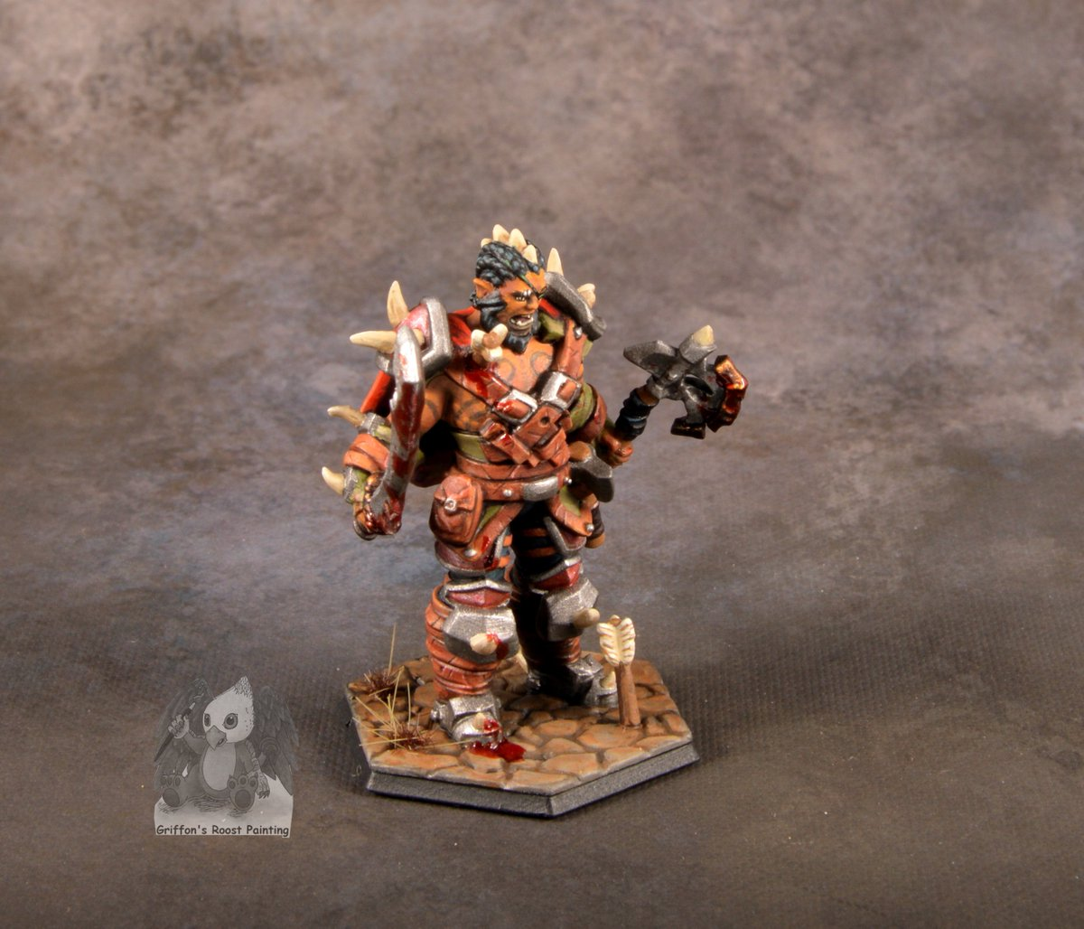 Griffons Roost Painting On Twitter Heres A Heroforgeminis Model